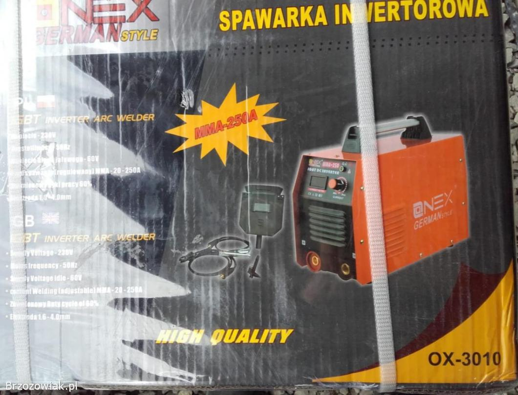 Spawarka inwentorowa ox-3010 Niemiecka